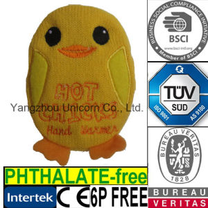 Children Mini Pocket Instant Hand Warm Duck Toy pictures & photos