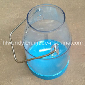 25liter Transparent Milk Bucket with Handle pictures & photos