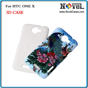 3D Phone Case for HTC One X/Sublimation Mobile Phone Case