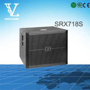 Srx718s Single 18′′ Professional Sound Equipment as Subwoofer pictures & photos