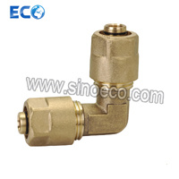 Brass Compression Fittings Female Elbow for Pex Pipe pictures & photos