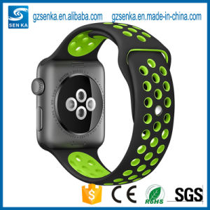 Sport Luminous Silicone Watch Band for Iwatch 38mm pictures & photos