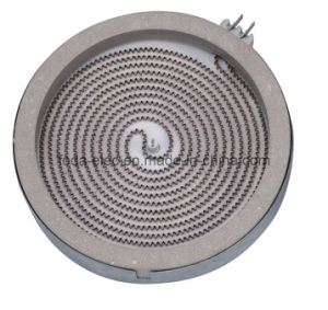 Simplex Winding Ceramic Hob, Infrared Coil Radiant Element Heating Plate