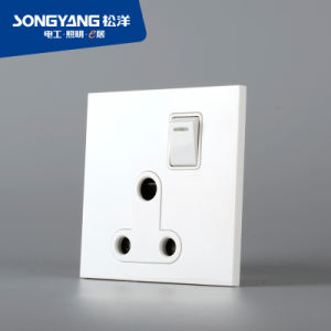 Electric Switch White Series 13A Wall Socket