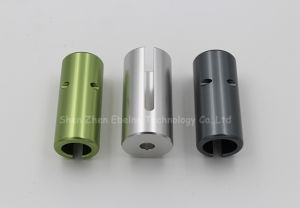 Duangdong CNC Machine Lathe Part with Color Anodizing pictures & photos