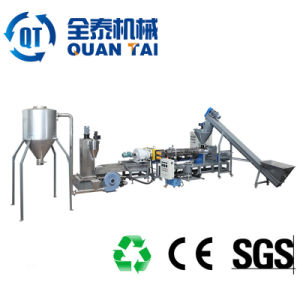 PE PP Film Force Feeding Single Screw Extruder Recycling pictures & photos