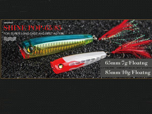 Hard Fishing Lure (Shine Popper 65mm) pictures & photos