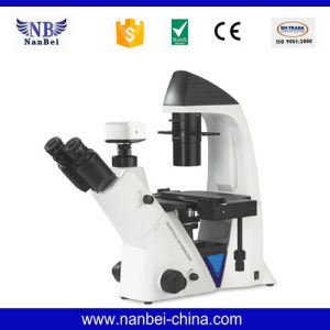 Bds400 Digital Inverted Biological Microscope  pictures & photos
