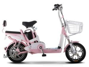 Lithium Battery Two Wheel Electric Mini Scooter with Pedals pictures & photos