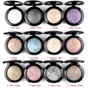 12 Color Ubub Professional Nude Glitter Eyeshadow Palette pictures & photos