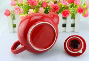 Big Capacity Colorful design SGS Certificate Ceramic Tea Pot pictures & photos