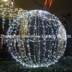 White LED Christmas Balls for Holiday Decoration pictures & photos