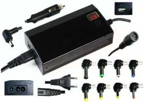 LCD 100W Universal Laptop Adapter