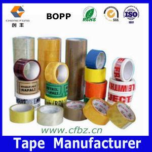 Hot! ! ! Clear/Brown/Printed OPP Bag Sealing Tape