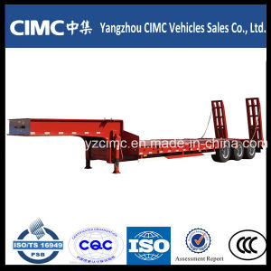 China Low Bed Semi Trailer, Heavy Duty Low Bed Semi-Trailer, Lowbed Trailer pictures & photos