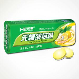Sugar-Free Lemon Flavor Mint Candy