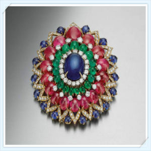 New Design Glass Pearl Stones Fashion Jewellery Brooch pictures & photos