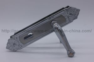 Aluminum Handle on Iron Plate 075 pictures & photos
