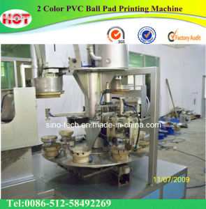 2 Color PVC Ball Pad Printing Machine pictures & photos
