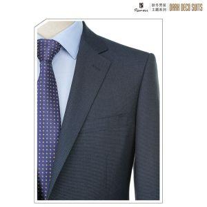 OEM 2 Piece Classic Fit Men′s Business Suit pictures & photos