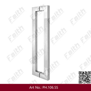 Stainless Steel Glass Door Pull Handle (pH. 114. SS) pictures & photos