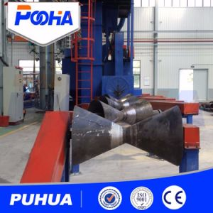Steel Pipe Shot Blasting Machine Price with Abrasive Recovery System pictures & photos