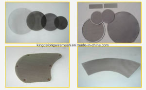 Stainless Steel Wire Mesh Filter Disc/Stainless Steel Filter Disc pictures & photos