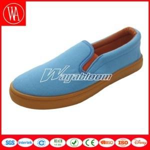 Leisure Comfort Canvas Shoes Flat Casual Shoes pictures & photos