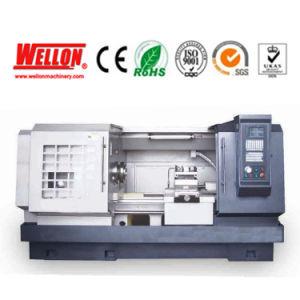 Flat Bed CNC Lathe Machine Ck6185e 61100e CNC Lathe Machinery pictures & photos