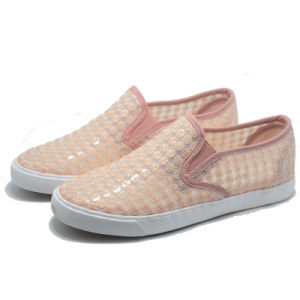 2017 Women Summer Lace New Lady Girl Canvas Shoes pictures & photos