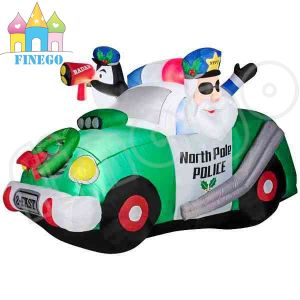 Santa North Police Car Christmas Inflatables pictures & photos