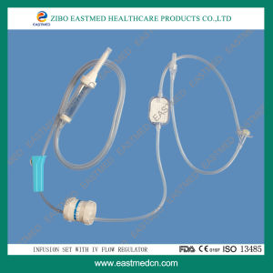 Disposble Infusion Set with Needle Free Injection pictures & photos