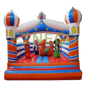 Arabic Muslim Colorful Inflatable Jumping Bounce House for Sale pictures & photos
