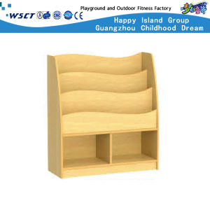 Small Children Wooden Book Shelf on Stock (HC-4306C) pictures & photos