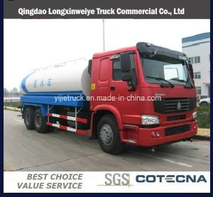 HOWO 6X4 10-20 Cbm Water Tanker Transportation Truck pictures & photos