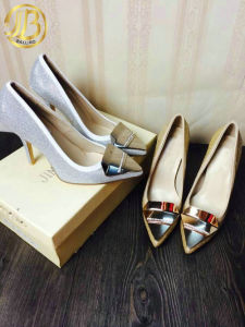 2015 Newest Fahion Ladies High Heel Dress Shoes, Women Footwear
