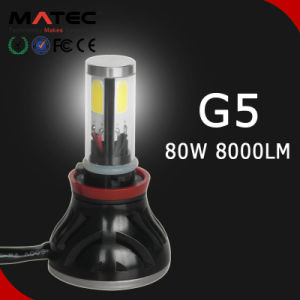 G5 H4 H7 H11 4000lumens 40W 6000k LED Headlights Car Headlight for Auto pictures & photos