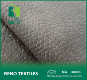 Embossed Suede Brushed Velvet Backing Faux Suede Fabric