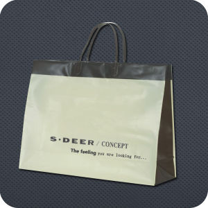 Premium Plastic-Handle Luxury Shopping Bag pictures & photos