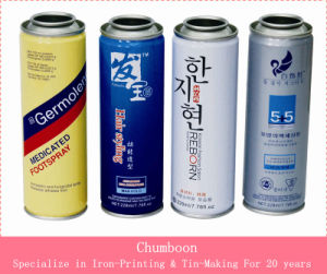 Hair Care Aerosol Can with Different Size