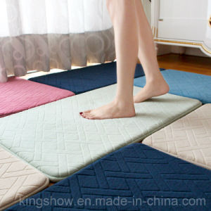 Home Printed Polyester Floor Carpet Bath Area Rug (40*60)