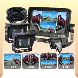 Quad Monitor Camera System with Shortcut Keys pictures & photos