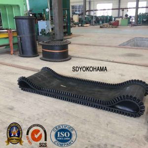 Sidewall No Cleat Conveyor Belt, No Cleat Sidewall Rubber Belt pictures & photos