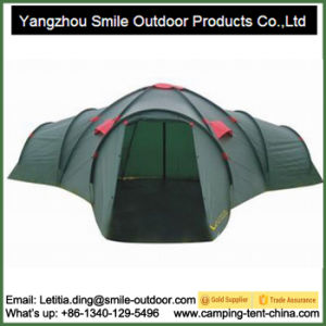12 Persons Large Camping Family 3 Room Tent Manufacturer pictures & photos