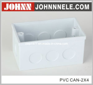 2X4 PVC Cable Connector Electrical Switch Box pictures & photos