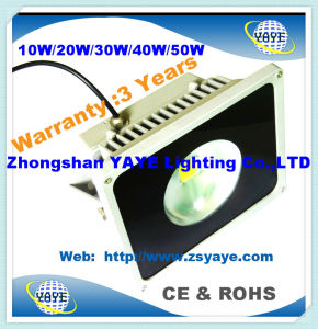 Yaye 18 Hot Sell Factory Price Ce/RoHS 10W/20W/30W/40W/50W LED Flood Light / LED Tunnel Light pictures & photos