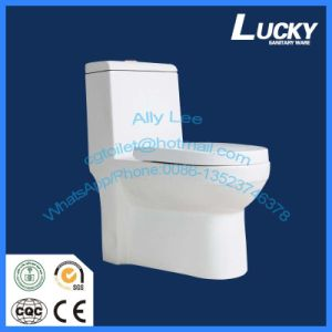 Professional Factory Super Siphon Watermark Ce Saso One-Piece Toliet pictures & photos