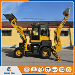 China Mini Excavator Digging Tractor Backhoe Loader Compact Backhoe Loader Price pictures & photos