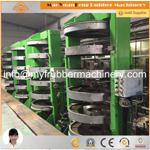 Rubber Tire Hydraulic Curing Press with BV, SGS, Ce Certification pictures & photos