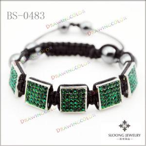 Square Shamballa Bracelets (BS-0483)